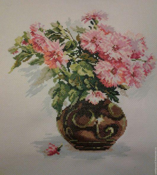 Картины цветов ручной работы. Ярмарка Мастеров - ручная работа. Купить Цветы. Handmade. Комбинированный, розовый, подарок на любой случай