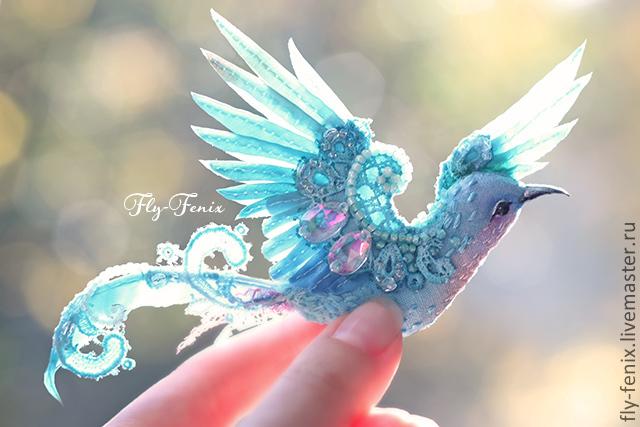 Птица счастья своими руками из ткани