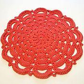 Для дома и интерьера handmade. Livemaster - original item Rug handmade knit cord Openwork stairs. Handmade.