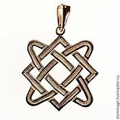Amulet handmade. Livemaster - original item Star frets gold. Handmade.