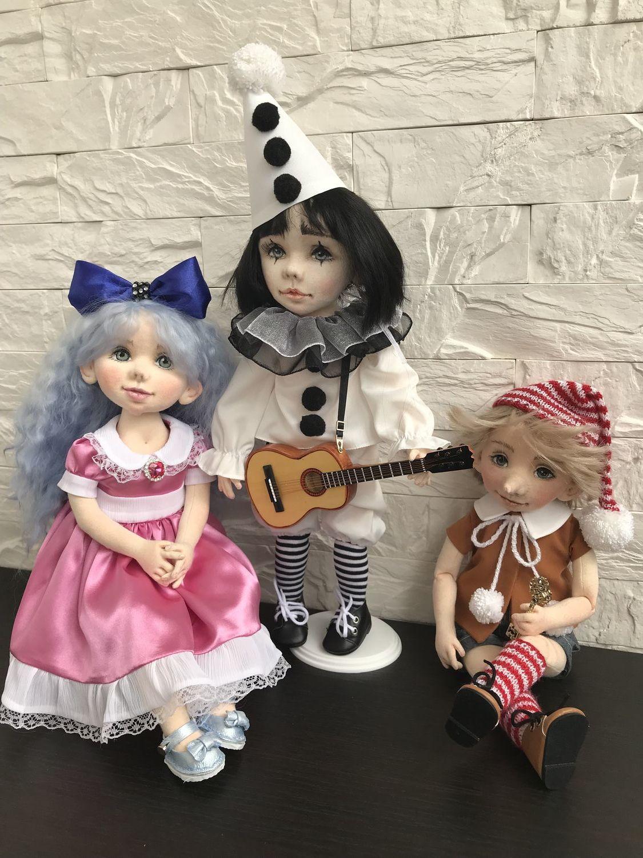 Буратино,  Мальвина и Пьеро, Куклы и пупсы, Балашиха,  Фото №1