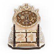 Канцелярские товары handmade. Livemaster - original item The perpetual calendar. Wooden calendar. Handmade.