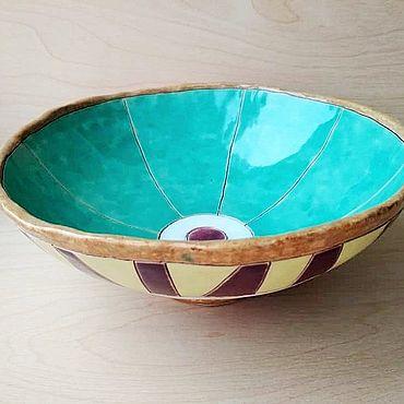 Посуда ручной работы. Ярмарка Мастеров - ручная работа Салатник № 2. Handmade.