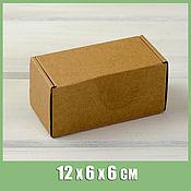 Коробки ручной работы. Ярмарка Мастеров - ручная работа Коробка 12х6х6 см из плотного картона. Handmade.