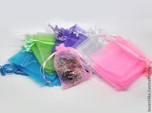 Упаковка ручной работы. Ярмарка Мастеров - ручная работа. Купить Подарочный мешочек 9х6,5см (1шт) РАЗНЫЕ ЦВЕТА. Handmade.