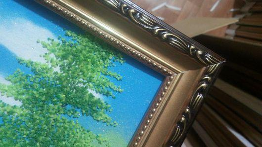 Дизайн интерьеров ручной работы. Ярмарка Мастеров - ручная работа. Купить Багетные рамки на заказ. Handmade. Комбинированный, рамка для картины