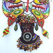 """Украшения ручной работы. Ярмарка Мастеров - ручная работа Африканское колье """"Adol"""" в этническом стиле. Handmade."""