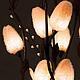 Персональные подарки ручной работы. Цветок-светильник  Луфа. Цветильник(цветы-светильники). Ярмарка Мастеров. Ночник, подарок женщине, сувениры и подарки