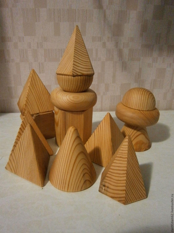 Поделки из геометрических фигур объемные своими руками фото 534