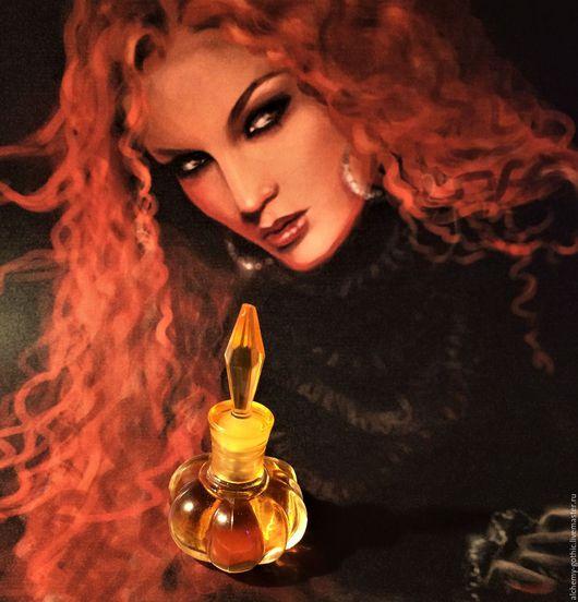 """Натуральные духи ручной работы. Ярмарка Мастеров - ручная работа. Купить """" Amore Strega """"   духи натуральные. Handmade."""