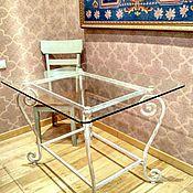 Для дома и интерьера handmade. Livemaster - original item Forged table