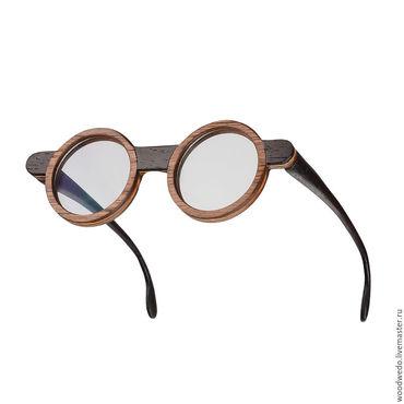 Аксессуары ручной работы. Ярмарка Мастеров - ручная работа Деревянные очки WxOD / Woodwedo X Open Design. Handmade.