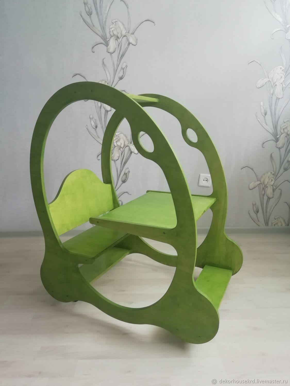 Стол и стул на колесах, Мебель для детской, Краснодар,  Фото №1