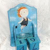 Канцелярские товары handmade. Livemaster - original item Perpetual calendar When you`re with me, I fly). Handmade.