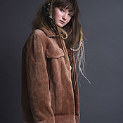 Одежда handmade. Livemaster - original item Beaver fur bomber jacket. Handmade.