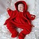 """Одежда ручной работы. Заказать Красный костюм """"Маленький чемпион"""". Mария Green Eyes & сompany. Ярмарка Мастеров."""