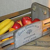 Для дома и интерьера ручной работы. Ярмарка Мастеров - ручная работа Ящик для фруктов. Handmade.