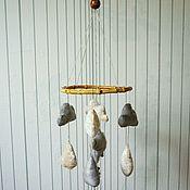 Для дома и интерьера ручной работы. Ярмарка Мастеров - ручная работа Мобиль в кроватку. Handmade.