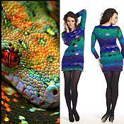 """Одежда ручной работы. Ярмарка Мастеров - ручная работа Платье """"Змея"""".. Handmade."""