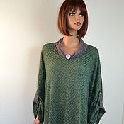 Одежда handmade. Livemaster - original item Elegant dress made of knitted knitwear