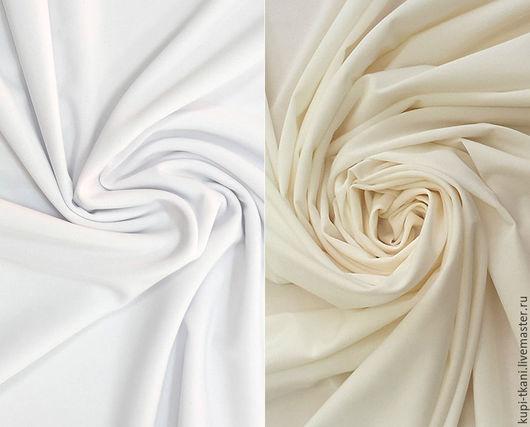 Шитье ручной работы. Ярмарка Мастеров - ручная работа. Купить Масло матовое Корея (белое и молочное). Handmade. Трикотаж