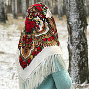 Аксессуары handmade. Livemaster - original item RUSSIAN-FOLK SHAWLS. Handmade.