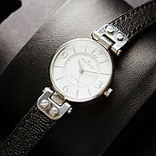 Украшения handmade. Livemaster - original item Genuine goat leather watchband for Anne Klein. Handmade.