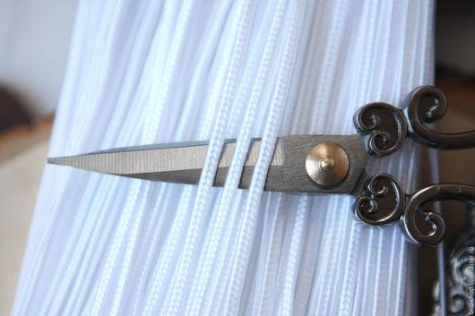 Для украшений ручной работы. Ярмарка Мастеров - ручная работа. Купить Турецкий сутаж 3 мм  Белоснежный ( 3 метра ). Handmade.