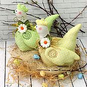 Куклы и игрушки ручной работы. Ярмарка Мастеров - ручная работа Пасхальные крочки. Handmade.
