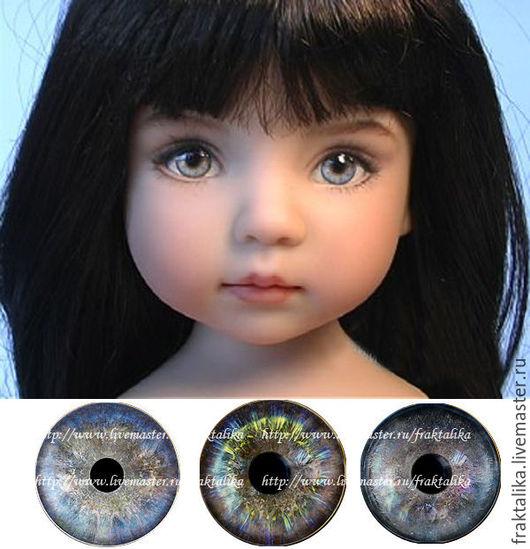 Глаза для кукол. Реборн, куклы младенцы, куклы дети.  Купить глаза иллюстрации радужек, ручная работа - оптом для мастеров, поштучно. Выполню на заказ.