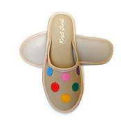 Обувь ручной работы. Ярмарка Мастеров - ручная работа Домашние тапочки Конфетти песок. Handmade.