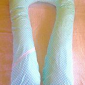 """Для дома и интерьера ручной работы. Ярмарка Мастеров - ручная работа U-образная подушка """"НежНяшка"""". Handmade."""
