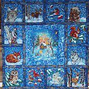 """Для дома и интерьера ручной работы. Ярмарка Мастеров - ручная работа Войлочный плед """"Зимняя сказка"""". Handmade."""