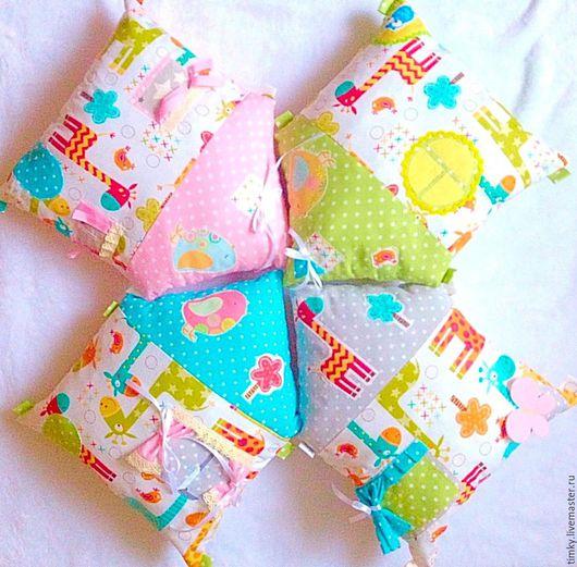 Детская ручной работы. Ярмарка Мастеров - ручная работа. Купить Бортики для детской кроватки. Handmade. Для новорожденного, простынь на резинке