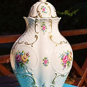 Винтаж handmade. Livemaster - original item LINDNER.A magnificent vase with a lid.. Handmade.