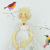 Куклы и игрушки ручной работы. Ярмарка Мастеров - ручная работа Туся. Звездный ангел.. Handmade.