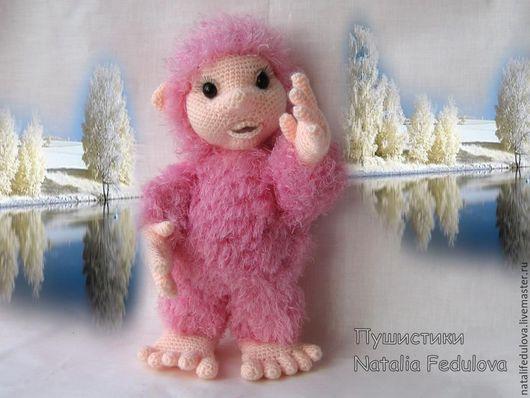 куклы, человечки, вязаные человечки, снежный человек, игрушка в подарок