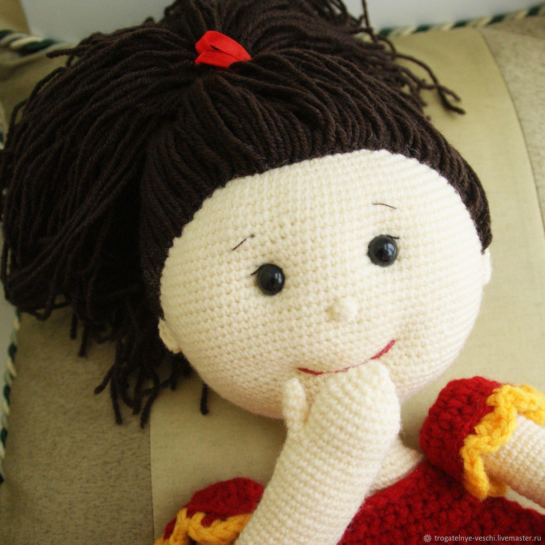 Doll - knitted jamnica Yulia, Stuffed Toys, Smolensk,  Фото №1