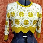 """Одежда ручной работы. Ярмарка Мастеров - ручная работа Джемпер  """"Май"""". Handmade."""