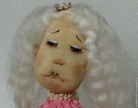 Коллекционные куклы ручной работы. Ярмарка Мастеров - ручная работа. Купить Принцесса на горошине. Handmade. Бледно-розовый, сказочный персонаж