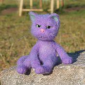 Куклы и игрушки handmade. Livemaster - original item Cat Valentine. Felted toy made of wool. Handmade.