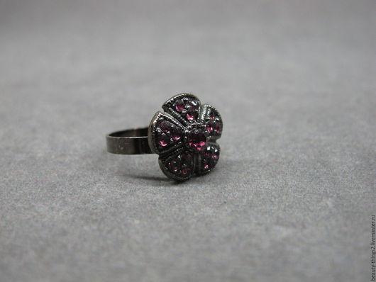 Винтажные украшения. Ярмарка Мастеров - ручная работа. Купить Симпатичное кольцо. Handmade. Серебряный, винтаж, бижутерный сплав
