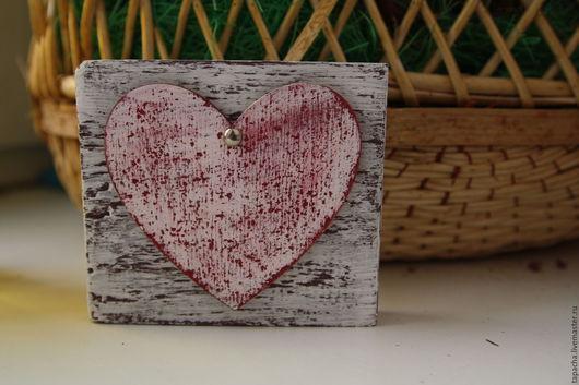 Интерьерные слова ручной работы. Ярмарка Мастеров - ручная работа. Купить Little heart & love. Handmade. Белый