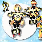 Работы для детей, ручной работы. Ярмарка Мастеров - ручная работа Карнавальный костюм робот трансформер Бамблби. Handmade.