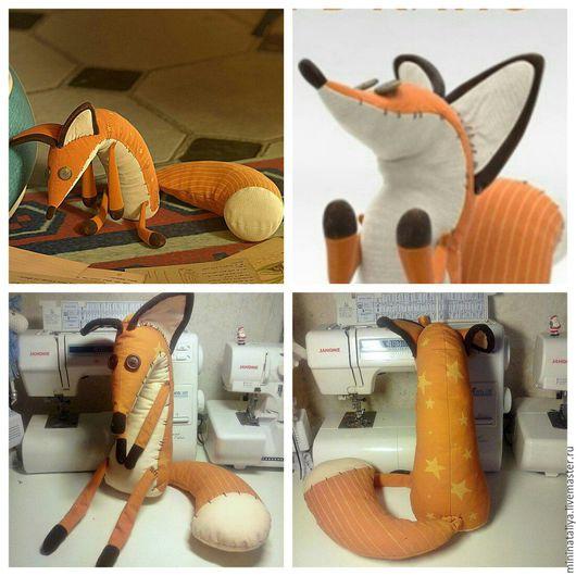 Игрушки животные, ручной работы. Ярмарка Мастеров - ручная работа. Купить Лис из маленького принца. Handmade. Оранжевый, белый