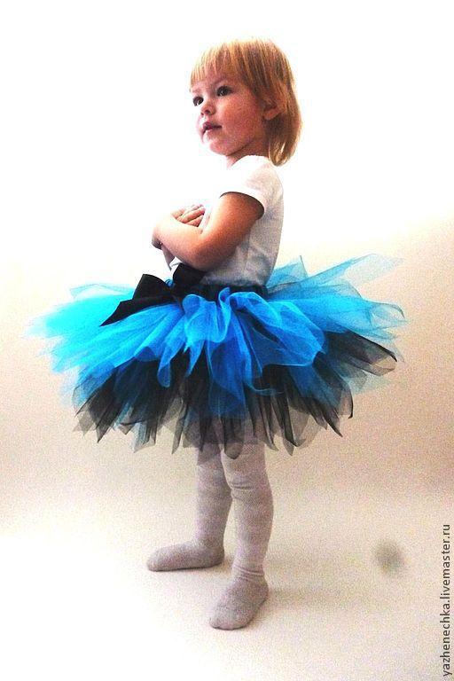 Одежда для девочек, ручной работы. Ярмарка Мастеров - ручная работа. Купить Юбка-пачка или tutu Голубая лагуна. Handmade.