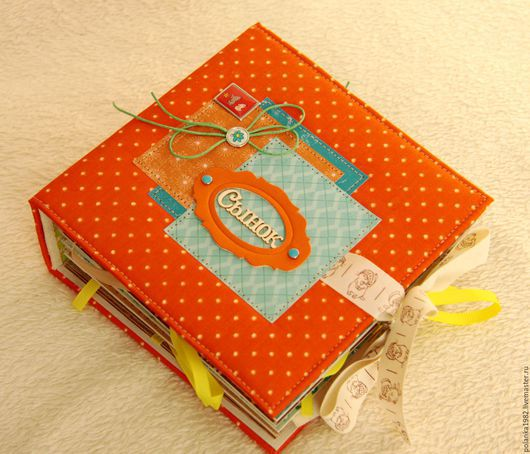 Подарки для новорожденных, ручной работы. Ярмарка Мастеров - ручная работа. Купить Фотоальбом для мальчика. Handmade. Комбинированный, для новорожденного
