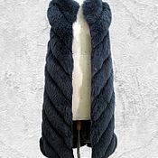 Одежда ручной работы. Ярмарка Мастеров - ручная работа Меховая жилетка из песца.. Handmade.