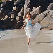 """Платья ручной работы. Ярмарка Мастеров - ручная работа Свадебное платье """"Лагуна"""". Handmade."""