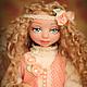 Коллекционные куклы ручной работы. Ванесса. Екатерина Реунова. Ярмарка Мастеров. Кукла из пластика, пластик, ленты